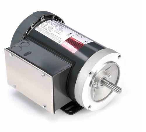 D315 Marathon 2 hp 3600 RPM 56C Frame TEFC 115/208-230V Marathon Electric Motor