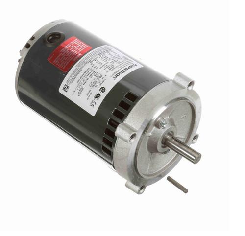 K247A Marathon 1/4 hp 1800 RPM 3-Phase  56C Frame ODP (no base) 230/460V Marathon Electric Motor
