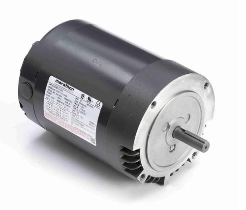 K249A Marathon 1/2 hp 1800 RPM 3-Phase  56C Frame ODP (no base) 230/460V Marathon Motor