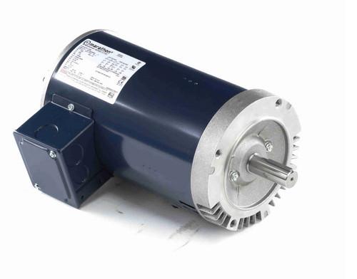 1 hp 1200 RPM 3-Phase  145C Frame ODP (no base) 230/460V Marathon Motor # C150B