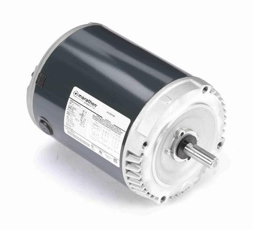 K222 Marathon 1 1/2 hp 3600 RPM 3-Phase  56C Frame ODP (no base) 208-230/460V Marathon Motor
