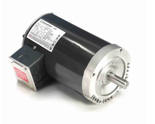 C103A Marathon 3 hp 3600 RPM 3-Phase  145TC Frame ODP (no base) 230/460V Marathon Motor