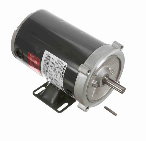 K1305A Marathon 1/3 hp 1800 RPM 3-Phase  56C Frame ODP (w base) 230/460V Marathon Motor