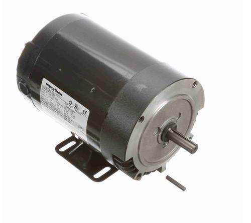 K1308A Marathon 3/4 hp 1800 RPM 3-Phase  56C Frame ODP (w base) 230/460V Marathon Motor