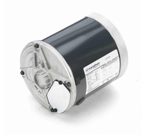 K252 Marathon 1/4 hp 1800 RPM 3-Phase  56C Frame TENV (no base) 208-230/460V Marathon Electric Motor