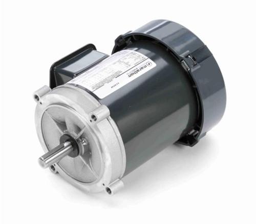 K253 Marathon 1/3 hp 1800 RPM 3-Phase  56C Frame TEFC (no base) 208-230/460V Marathon Electric Motor