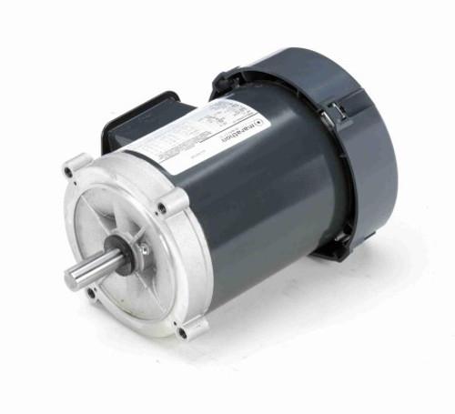 K254 Marathon 1/2 hp 1800 RPM 3-Phase  56C Frame TEFC (no base) 208-230/460V Marathon Electric Motor