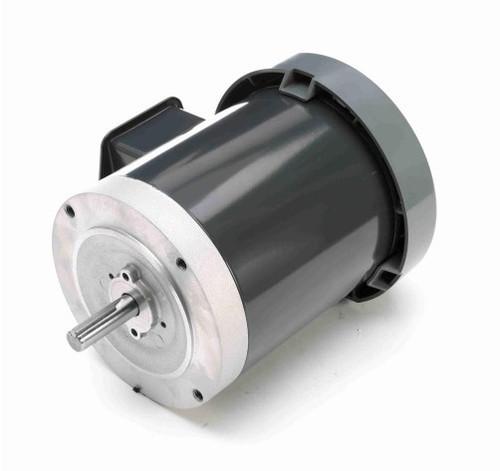 K1316 Marathon 1/2 hp 1200 RPM 3-Phase  56C Frame TEFC (no base) 208-230/460V Marathon Electric Motor