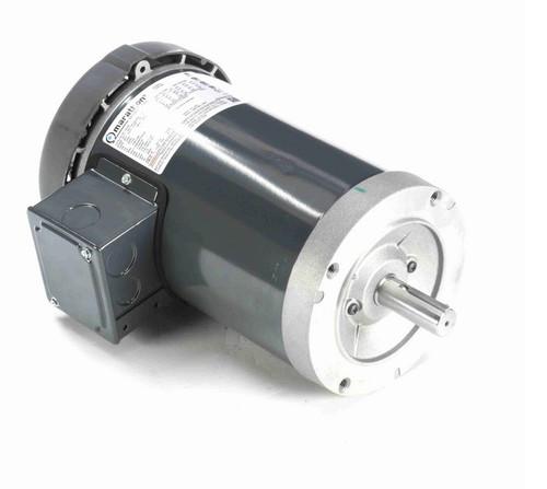 C220B Marathon 1 hp 1800 RPM 3-Phase 143TC Frame TEFC (no base) 230/460V Marathon Motor
