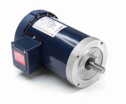 C201B Marathon 1 1/2 hp 3600 RPM 3-Phase 143TC Frame TEFC (no base) 230/460V Marathon Motor