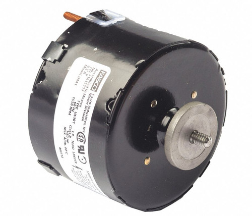 "Fasco D441 Motor | 1/80 hp 1500 RPM CCW 3.3"" Diameter 115 Volts (Fedders)"