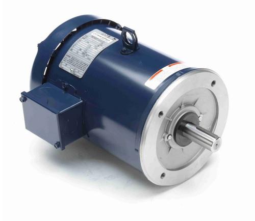 C224B Marathon 5 hp 1800 RPM 3-Phase  184TC Frame TEFC (no base) 208-230/460V Marathon Motor