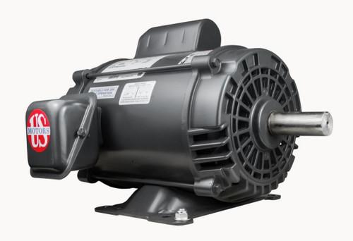 D3C2P18 Nidec | 3 hp 1800 RPM 184T Frame 115/230V Open Drip Nidec Electric Motor