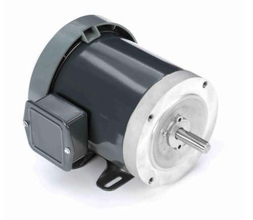 K1322 Marathon 1/3 hp 1800 RPM 3-Phase  56C Frame TENV (base) 208-230/460V Marathon Motor