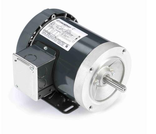 G587 Marathon 1/3 hp 1200 RPM 3-Phase  56C Frame TENV (base) 208-230/460V Marathon Motor