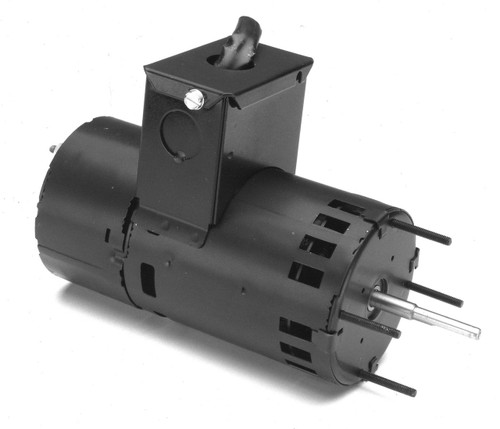 "Fasco D458 Motor | 1/15 hp 3000 RPM CW 3.3"" Diameter 208-230 Volts (Carrier)"