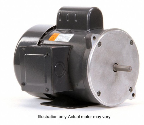 3/4 hp 1800 RPM 56YZ Frame TEFC 115/230V Nidec Electric Auger Drive Motor # FD34CM2PZY