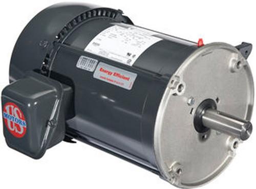 1.5 hp 1800 RPM 56Y Frame TEFC 208-230/460V Nidec Electric Auger Drive Motor # FD32PM2DZYR