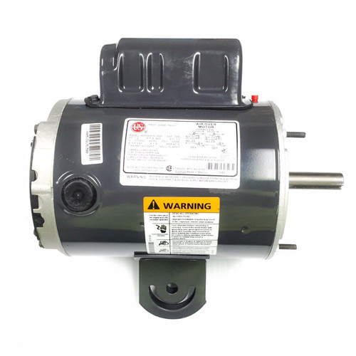 "1380 Nidec | 1/2 hp 825 RPM 1-Speed 115/230V; 5.6"" Yoke Mount Fan Motor"