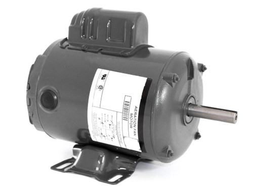 FD34CA1PZ Nidec | 3/4 hp 3600 RPM 56Z 115/230V Aeration Fan Motor