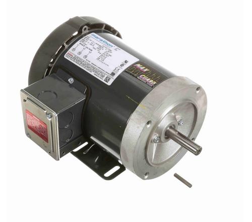 K708A Marathon 1 hp 3600 RPM 3-Phase  56C Frame TEFC (base) 575V Marathon Motor