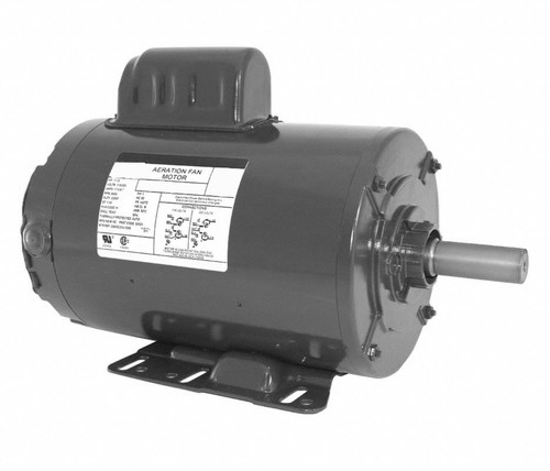 FD2CA1P14 Nidec | 1.5 hp 3600 RPM 143TZ 115/230V Aeration Fan Motor