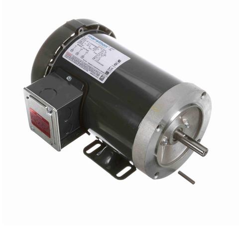 1 1/2 hp 3600 RPM 3-Phase  56C Frame TEFC (base) 575V Marathon Motor # K721A