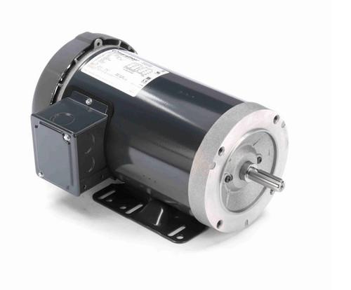 G584A Marathon 1 1/2 hp 1800 RPM 3-Phase  56C Frame TEFC (base) 230/460V Marathon Motor