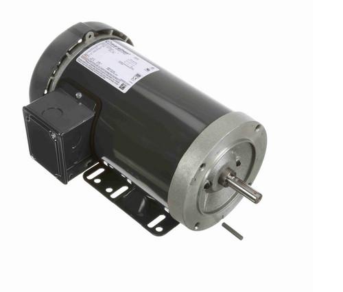 1 1/2 hp 1800 RPM 3-Phase  56C Frame TEFC (base) 575V Marathon Motor # K722A