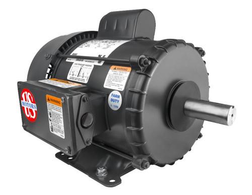 FD2CM2P18 Nidec | 2 hp 1800 RPM 182T Frame TEFC (Farm Duty) 115/230V