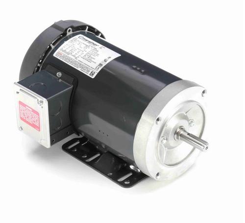 D395A Marathon 2 hp 3600 RPM 3-Phase  56C Frame TEFC (base) 230/460V Marathon Motor