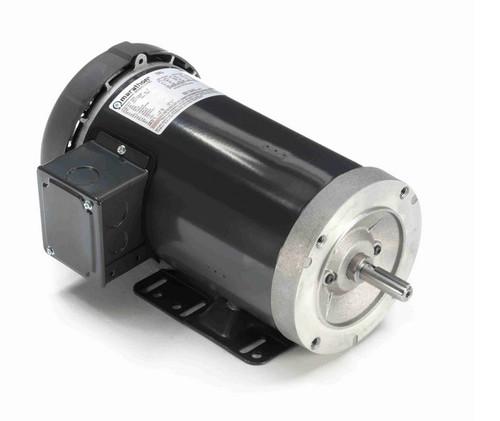 K806A Marathon 2 hp 1800 RPM 3-Phase  56C Frame TEFC (base) 230/460V Marathon Motor