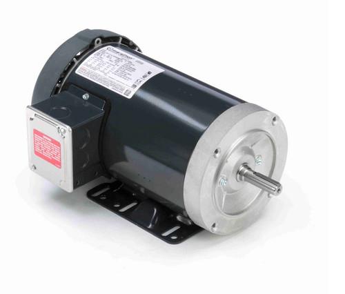 D396A Marathon 3 hp 3600 RPM 3-Phase  56C Frame TEFC (base) 230/460V Marathon Motor