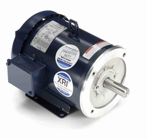 C381B Marathon 3 hp 3600 RPM 3-Phase  182TC Frame TEFC (base) 230/460V Marathon Motor