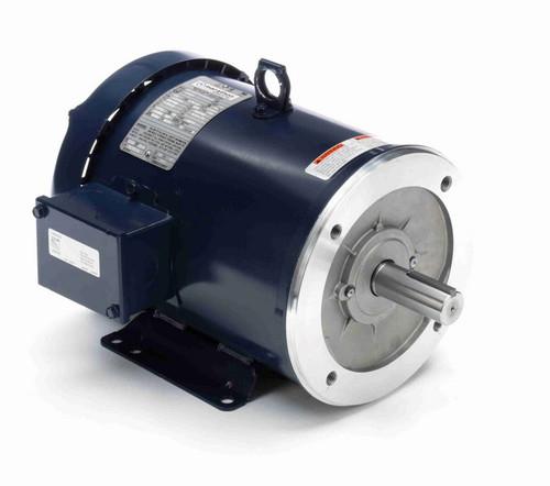 G590A Marathon 3 hp 1800 RPM 3-Phase 182TC Frame TEFC (base) 230/460V Marathon Motor