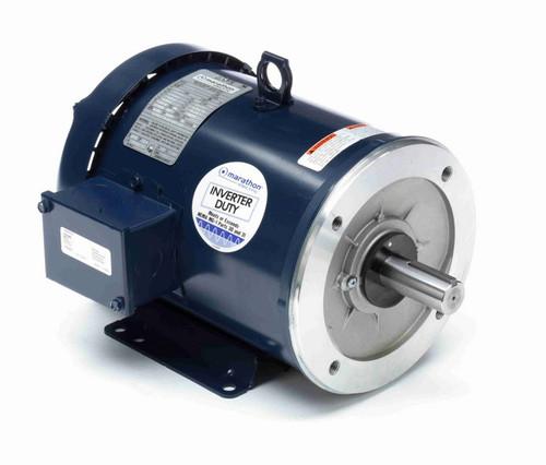 C382B Marathon 3 hp 1800 RPM 3-Phase 182TC Frame TEFC (base) 230/460V Marathon Motor