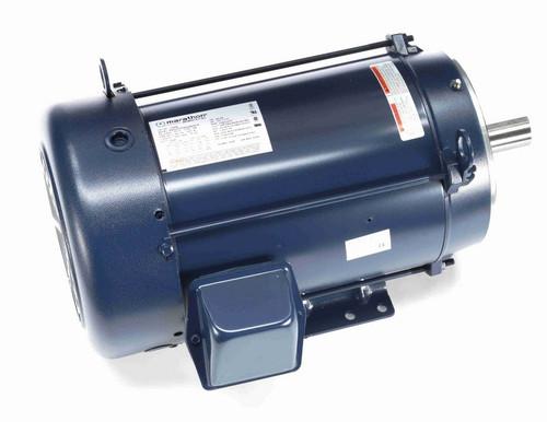 3 hp 1200 RPM 3-Phase 213TCV Frame TEFC (base) 208-230/460V Marathon Motor # C384B