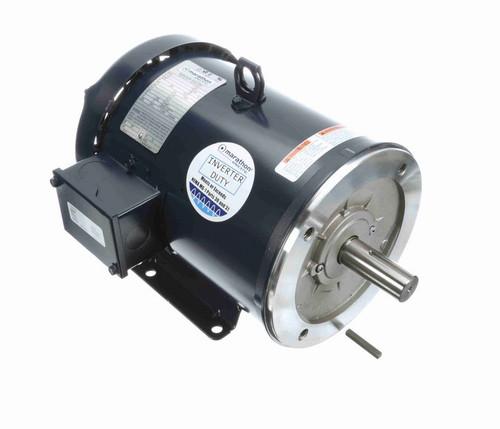 C387B Marathon 5 hp 1800 RPM 3-Phase 184TC Frame TEFC (base) 575V Marathon Motor