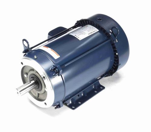 C389B Marathon 7 1/2 hp 3600 RPM 3-Phase 213TCV Frame TEFC (base) 208-230/460V Marathon Motor