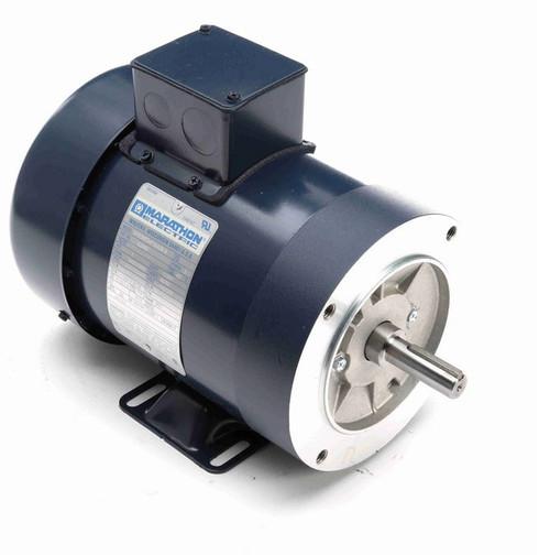 1 hp 3600 RPM 3-Phase  56C Frame TEFC (base) 208-230/460V Marathon Motor # E2000