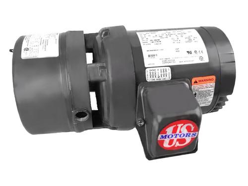 BMU1P2DFCR Nidec | 1 hp 1800 RPM 56C Frame 208-230/460V TEFC Nidec C-Face Electric Brake Motor