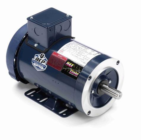 E2001A Marathon 1 hp 1800 RPM 3-Phase  143TC Frame TEFC (base) 230/460V Marathon Motor