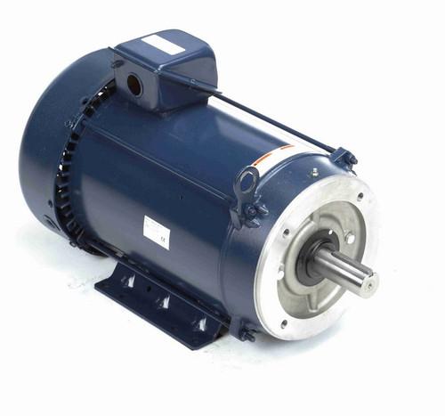 E2014A Marathon 5 hp 1200 RPM 3-Phase 215TC Frame TEFC (base) 208-230/460V Marathon Motor