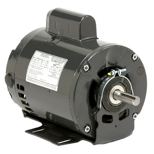 3700-E Nidec | 1/6 hp 900 RPM 48 Frame 115V Open Drip Nidec Electric Motor