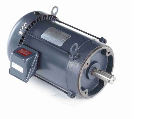 3 hp 1200 RPM 3-Phase 213TC Frame TEFC (no base) 230/460V Marathon Motor # GT1311
