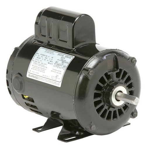 D12CP3PH Nidec | 1/2 hp 1200 RPM 56H Frame 115/230V Open Drip Nidec Electric Motor