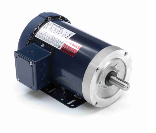GT1203 Marathon 1 1/2 hp 3600 RPM 3-Phase 143TC Frame TEFC (rigid base) 230/460V Marathon Motor