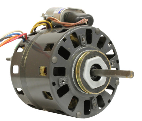 "Fasco D486 Motor | 1/10 hp 1550 RPM 5"" Diameter 115/208-230 Volts"