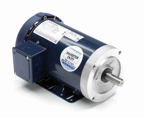 GT1204 Marathon 1 1/2 hp 1800 RPM 3-Phase 145TC Frame TEFC (rigid base) 230/460V Marathon Motor