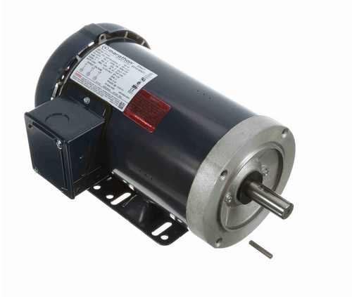 GT1404 Marathon 1 1/2 hp 1800 RPM 3-Phase 145TC Frame TEFC (rigid base) 575V Marathon Motor